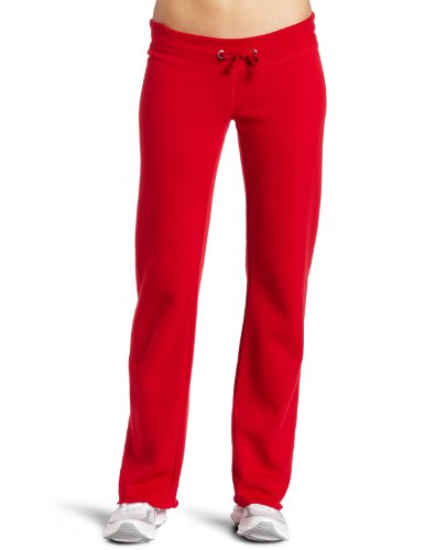Soffe Juniors Rugby Fleece Pant, Red, X-Large