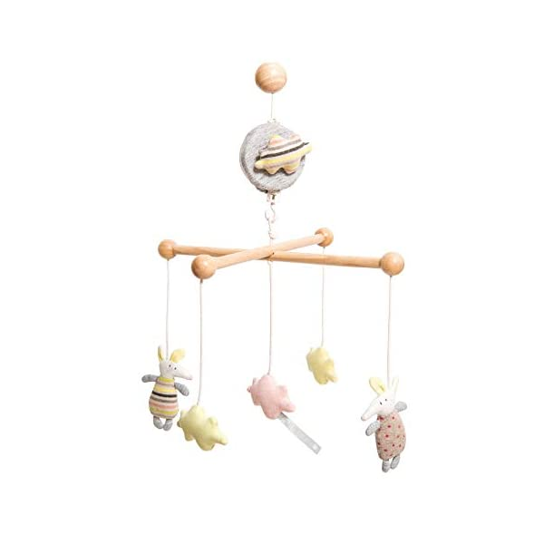 Les Petits Dodos Mobile Musical with a Mobile Holder