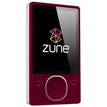 Zune 80 GB Digital Media Player (Red)