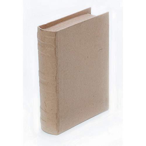 Bulk Buy: Darice DIY Crafts Paper Mache Book Box 7-3/4 x 5-1/2 x 1-3/4 in (2-Pack) -