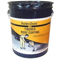 Roofers Choice RC014070 Fibered Roof Coating, 5 gallon Container