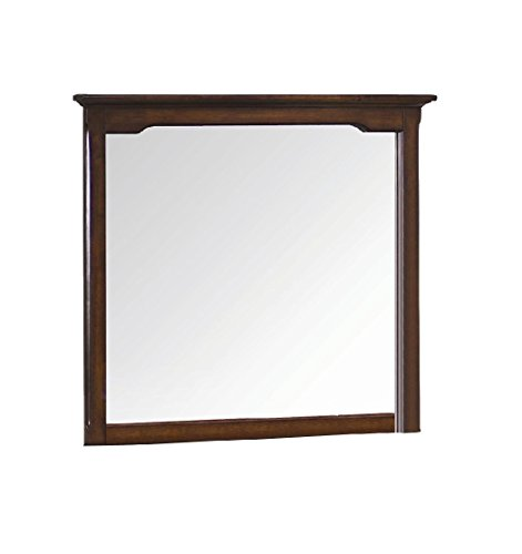 New Spec Albany Frame Mirror, Dark Oak (Dark Oak Mirror)