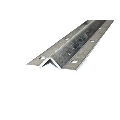 Galvanized Gate V Track Inverted V Track For Sliding Rolling ALEKO 18Ft 5.5 M
