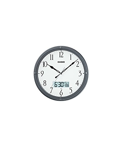 Casio Ic-01-8 Wall Clock with Day and Date Analog Digital ()