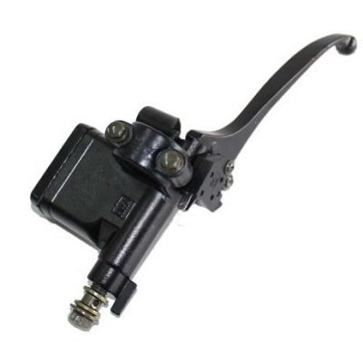Hydraulic Brake Lever Master Cylinder (Right Side) Lever 7/8 Inch with 8mm Mirror Hole - Perfect for GY6 50cc 125cc 150cc 250cc Scooter Moped Atv Dirt Pit Bike