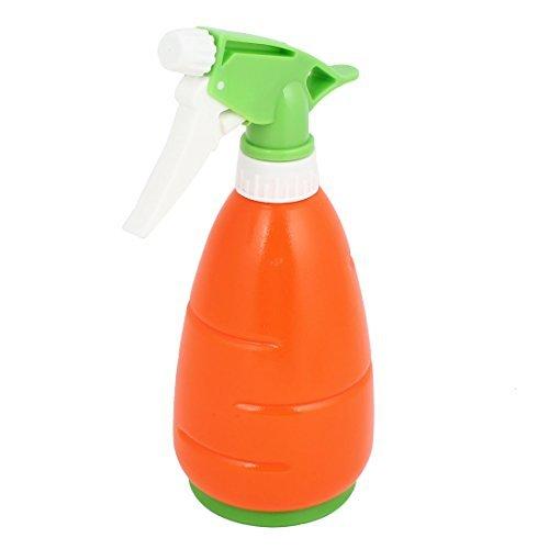 eDealMax Zanahoria en Forma de Botella del aerosol Jardín Planta de agua Naranja Verde 450ml