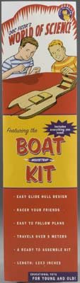 DOC FIZZIX 1734 Doc Fizzix Mouse Trap Boat DFXX1734 - Mouse Trap Boats