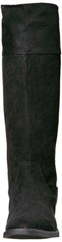 Sugar Girls' Powdered Pull-on Boot, Black Suede, 13 M US Little Kid by Sugar (Image #4)