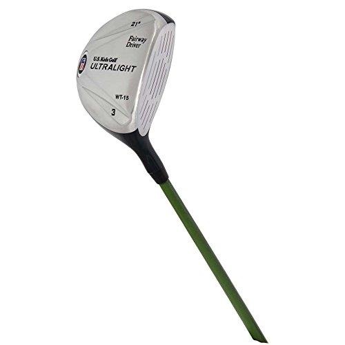 US kids Golf Zurdo UL 57 Fairway Driver Madera 3, Unisex ...