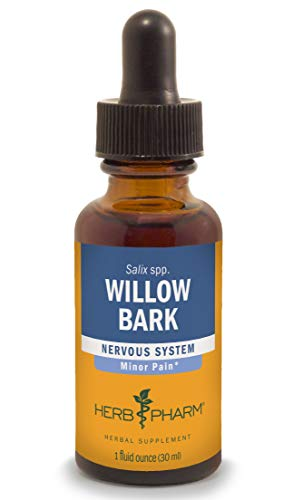 Herb Pharm Willow Bark Liquid Extract for Minor Pain - 1 Ounce