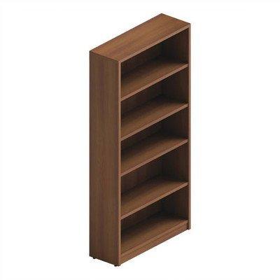 Global Total Office Adaptabilities 5 Shelf Bookcase in Avant Honey