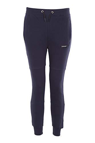 Noroze Boys Track Pants Kids Plain Fleece Jog Bottoms Junior Trousers (11-12 Years, Navy) (Fleece Jog Pants)