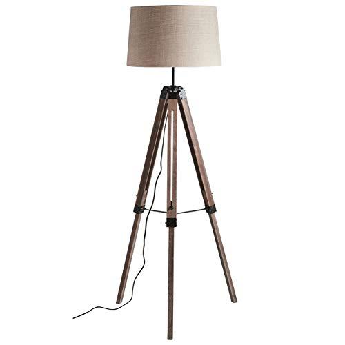 - Stone & Beam Modern Tripod Floor Lamp, 59.5