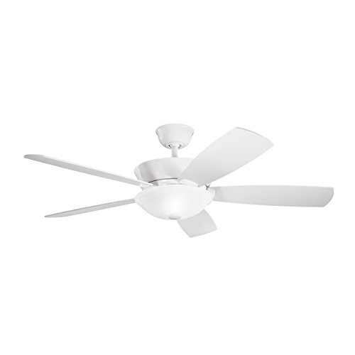 - Kichler  300167WH 54`` Ceiling Fan