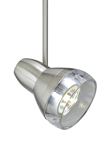Tech Lighting 700MO2OM12 Two-Circuit MonoRail Mini Om Flexible Low-Voltage Head, Satin Nickel