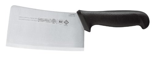 Mundial 5550-6 Cleaver, Black by Mundial