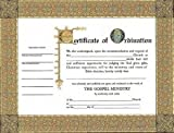 Certificate-Ordination-Minister (6 Pack)