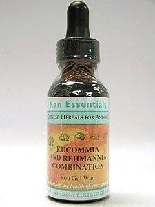 Kan Herbs - Eucommia and Rehmannia Combination 1 oz 2 Pack - Combination Eucommia