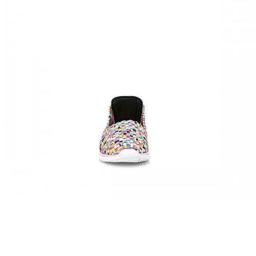 Zapatilla Mtng Elástica Multicolor 69229 Rosa