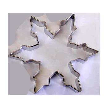 "RM 5"" Snowflake #1 Metal Cookie Cutter for Holiday Baking / Christmas Party Favors / Scrapbooking Stencil"