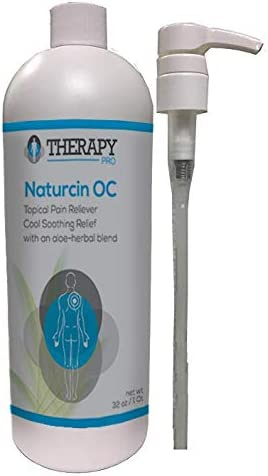 Naturcin-OC Pain Relieving Cream for Sore Muscles, Backaches, Joint Pain, and Arthritis Pain (Menthol, 1 Quart)