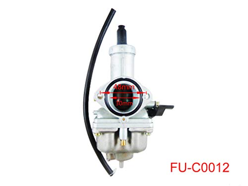 PZ30 30mm Lever Choke Carburetor for 4 Stroke CG 200cc 250cc ATV Go Kart Dirt Bike Quad Chinese Taotao Sunl Roketa JCL