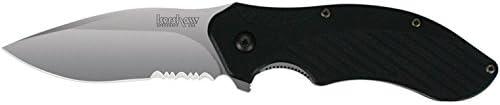Kershaw Knives – Clash, Black Polyimide Handle, ComboEdge
