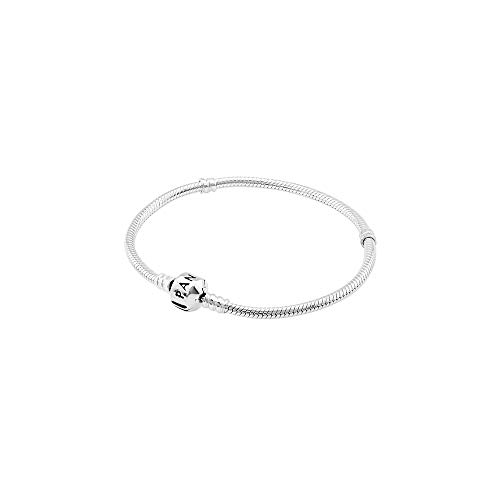 (Pandora Women's Genuine Sterling 8.3 Bead Clasp Charm Bracelet 590702HV-21
