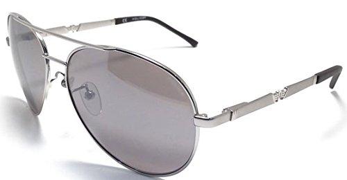 Police Gafas de Sol Hombre S8746 589X Argento Cerrado ...