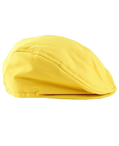 RuggedButts Baby/Toddler Boys Yellow Chino Drivers Cap - 2T-4T ()