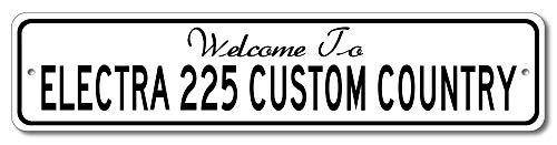 Buick Electra 225 Custom - Welcome to Car Country Sign - Aluminum 4