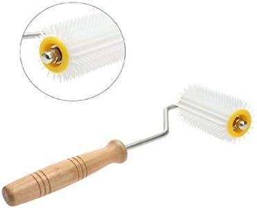 Steel Uncapping Needle Roller Bee Honey Extractor Tool Beekeeping Equipment