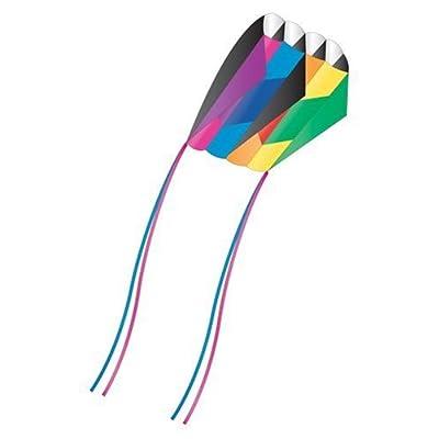 X-Kites Skyfoil Frameless Rainbow Parafoil Kite: Toys & Games