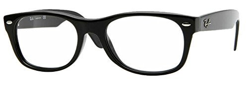Ray-Ban RX5184 Eyeglasses (50 mm, Shiny - Wayfarer Ray Ban Eyeglasses