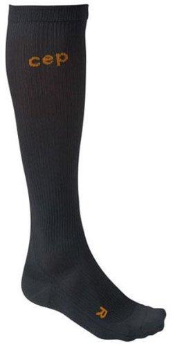 Cep Men's Compression Running O2 Socks Black Size 3