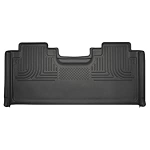 Husky Liners Fits 2015-19 Ford F-150 SuperCab, 2017-19 Ford F-250/F-350 SuperCab Weatherbeater 2nd Seat Floor Mat (Full…