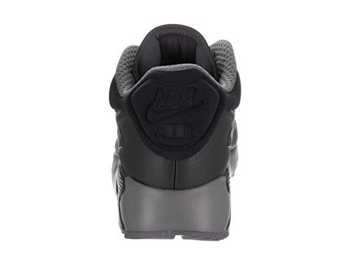 Nike Herren 845039-003 Turnschuhe Schwarz/Dunkelgrau