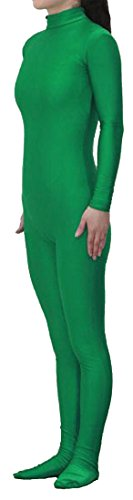 (Seeksmile Unisex Lycra Spandex Zentai Dancewear Catsuit without Hood (X-Large,)