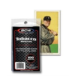 Tobacco Card Sleeves 100 Count