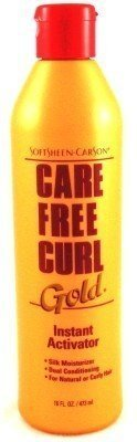 Care Free Curl Gold 473 ml Activator/Moisturizer (3-Pack) by Carefree