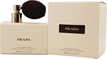 Prada Tendre By Prada For Women. Eau De Parfum Spray Refillable 2.7-Ounces