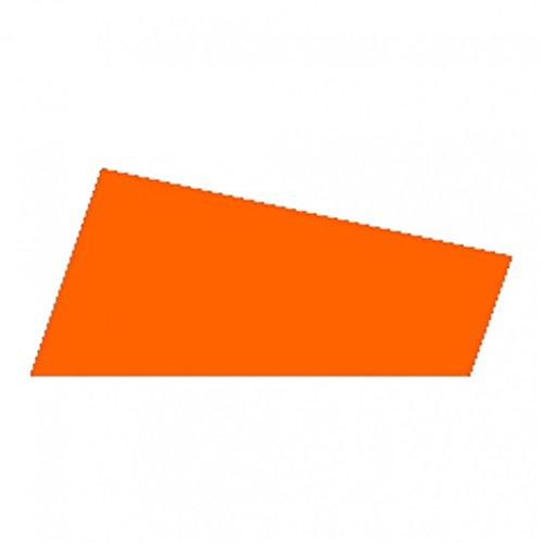 Minerva 2mm d'épaisseur Mousse Craft Feuilles Orange–par Lot DE 10