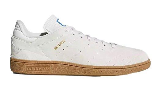 Scarpa Da Uomo Adidas Mens Busenitz Vulc Rx Bianca / Gum4 / Oro