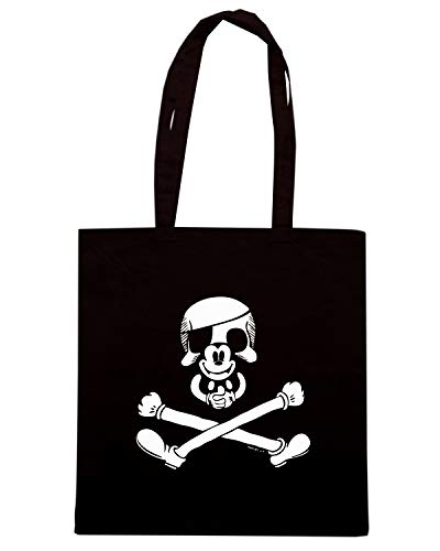 Shirt Borsa 24096 Shopper PIRATE MICKEY Nera Speed SKULL FUN0427 w1qdawR