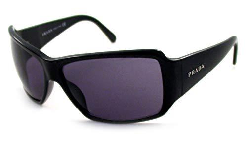 296ecb0d549 Amazon.com  PRADA SUNGLASSES BLACK FRAME SPR 09G SPR09G 1AB-1A1 Soft Black  Lens Size  64-13-125  Clothing