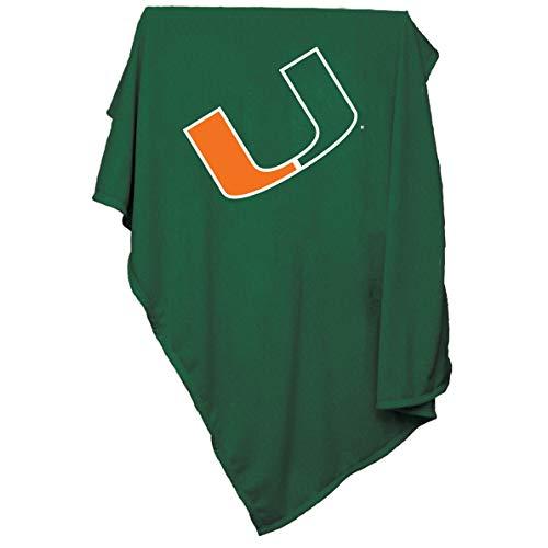 NCAA Miami Hurricanes Sweatshirt Blanket
