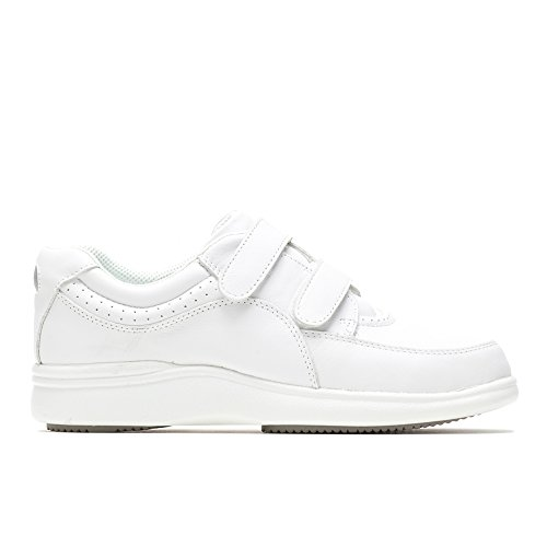 - Hush Puppies Women's Power Walker II White Leather Sneaker 10 W (D)