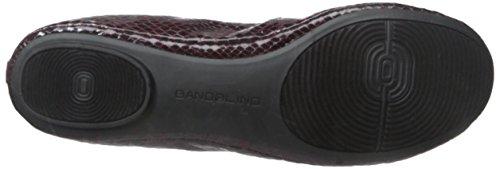 Bandolino Damen Edition Leder Ballett Flat Wein