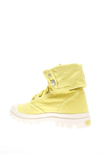 Palladium mujer Sneaker alta PACAL0134 P743 Lady Baggy marshm sol canvas Lemon
