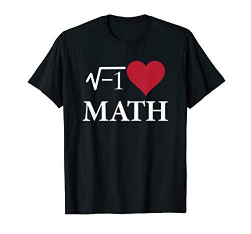 I Love Heart Math Funny T-Shirt